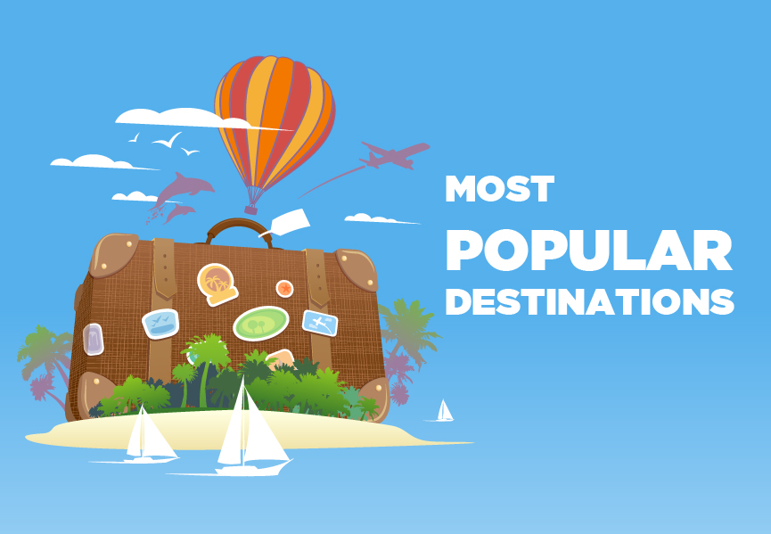 Most Popular Destinations