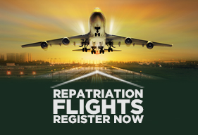 Repatriation flights